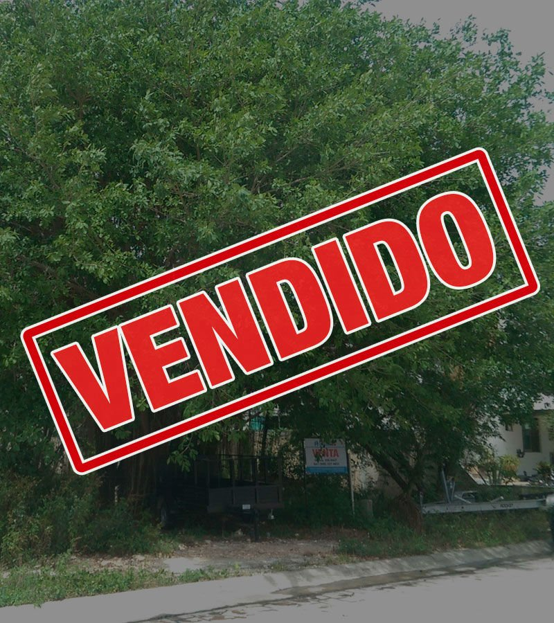 vendido terreno residencial cumbres cancun canter