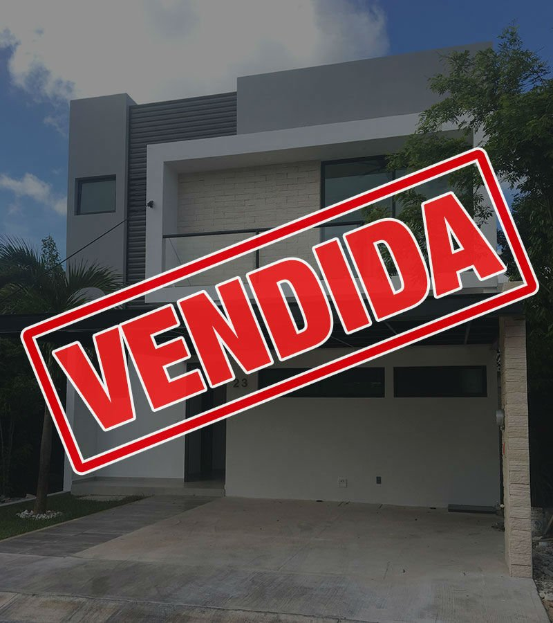 sala tv casa residencial aqua cancun verani23