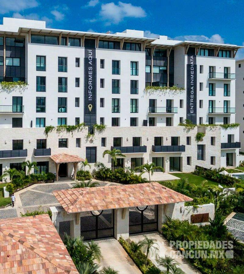 vista aerea desarrollo residencial kaanali cancun