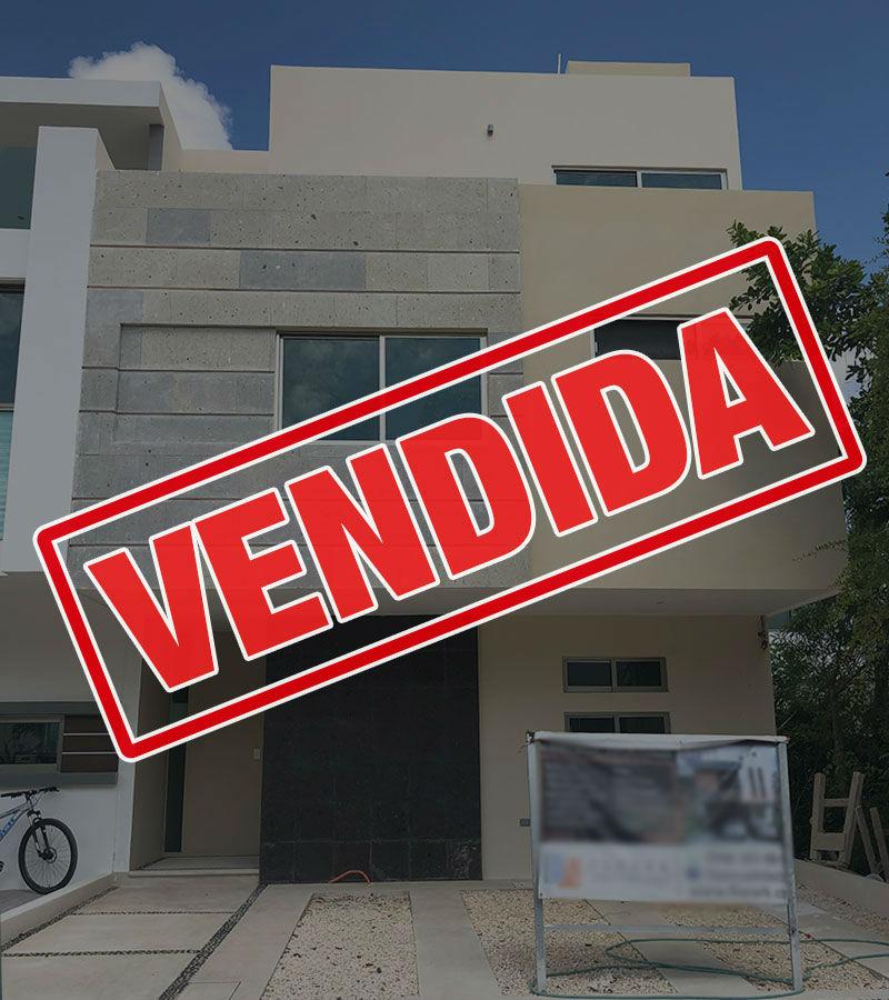 vendida casa residencial arbolada cancun mangled18