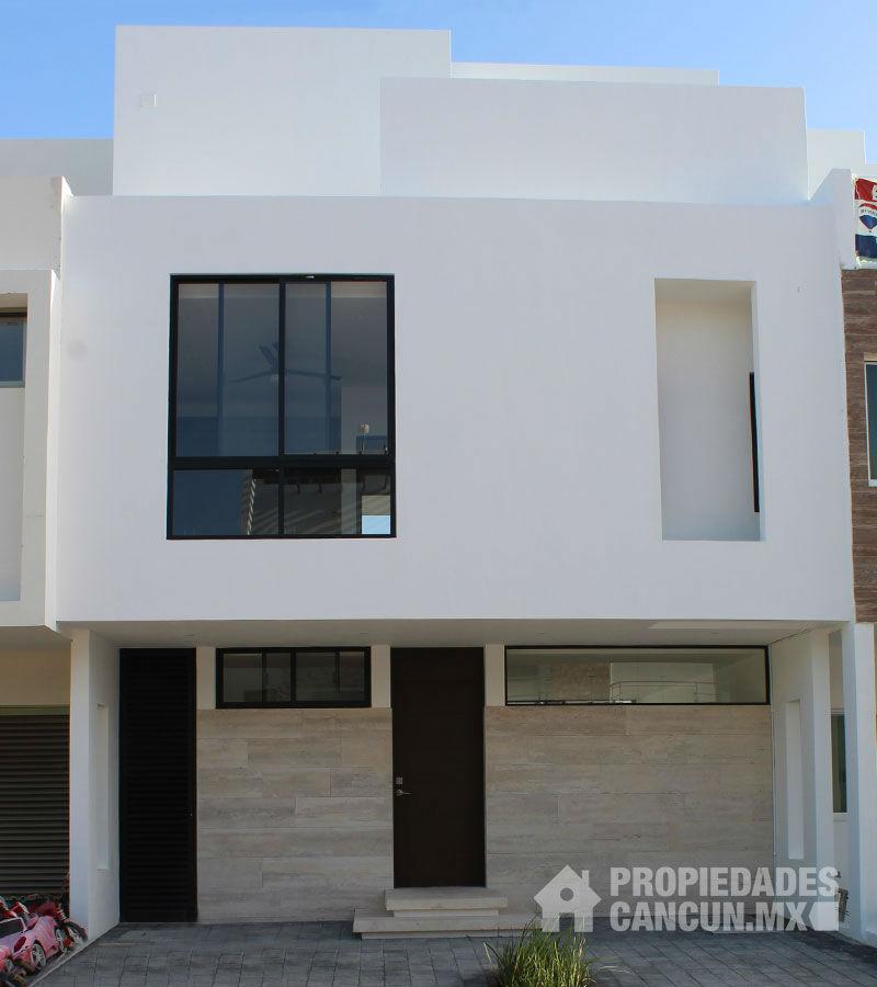 terraza casa residencial arbolada cancun eucasu7