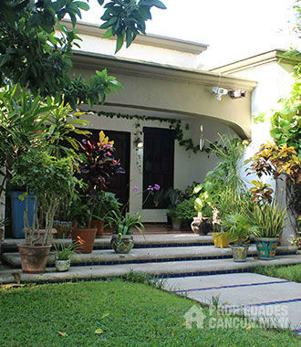 sala casa residencial campestre cancun tresu45