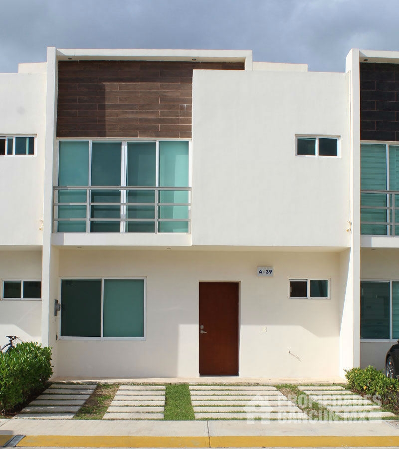 sala casa residencial long island cancun yorkli